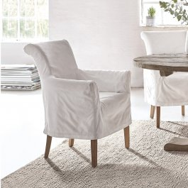 Fauteuil Amherst wit