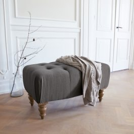 Hocker Durance antraciet