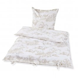 Beddengoed Pierrefeu beige