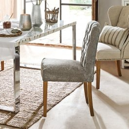 Chaise Fulden gris