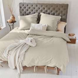 Beddengoed Monthelie beige